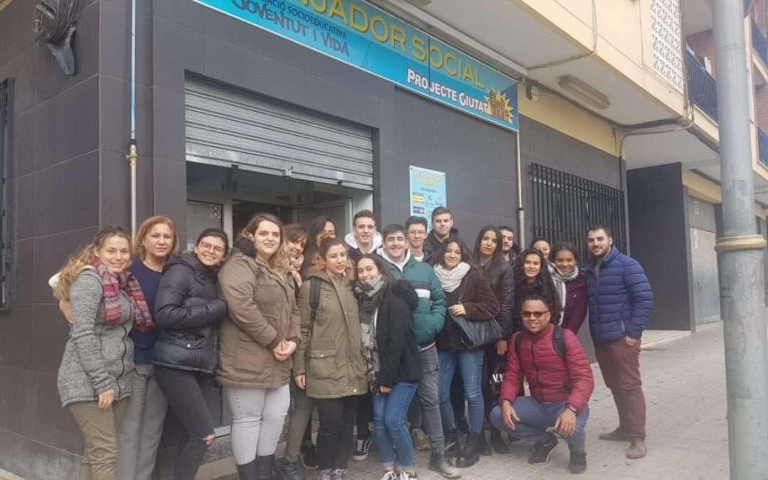 Administració i Finances, Gestió Administrativa i FOAP visita el menjador social de Bonavista