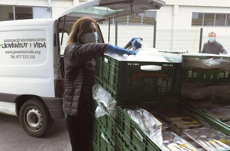 Mercadona reactiva la donació de productes a menjadors tarragonins